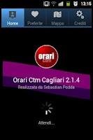 Screenshot of Orari Ctm Cagliari PRO gratis!