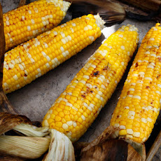 Grilled Corn with Soy Sauce and Mirin Recipe