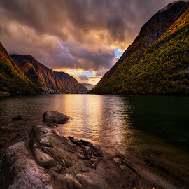 Sognefjorden, Norway by John Aavitsland - Landscapes Mountains & Hills