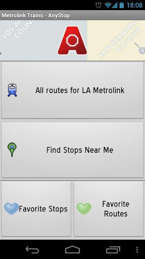 Metrolink LA: AnyStop