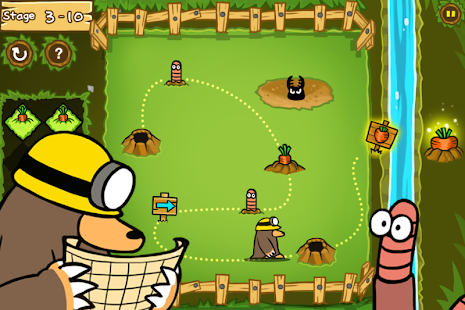 Hungry Mole - screenshot