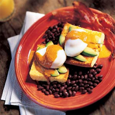 Southwest Eggs Benedict