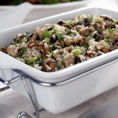 Rice Stuffing W/ Mushrooms & Chestnuts (Gluten Free)