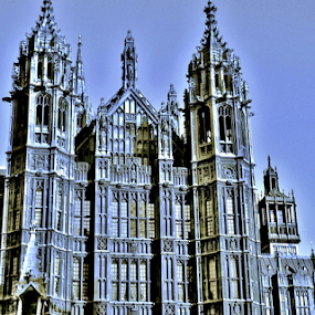 Ye Olde Days of Parliament by Gary Ambessi - Buildings & Architecture Public & Historical