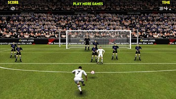 Screenshot of Free kicks Shooter 3D