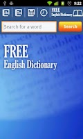 Screenshot of Free English Dictionary