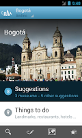 Screenshot of Colombia Travel Guide