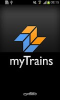 Screenshot of myTrains UK Live Train Times
