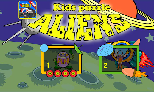 Kids Puzzle - Aliens - screenshot
