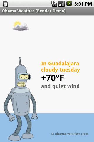 Obama Weather [Bender Demo]
