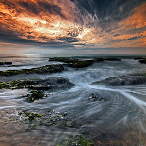 Evening Motion by Aditya Permana - Landscapes Waterscapes