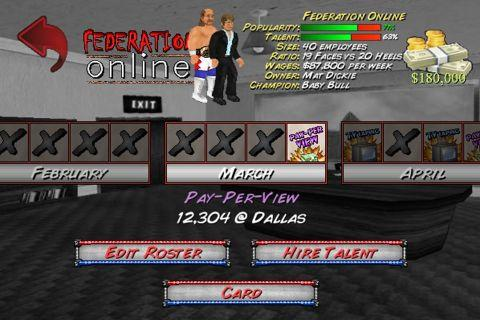 Booking Revolution (Wrestling) Screenshot 5