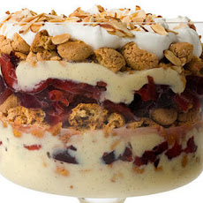 Pluot-Amaretti Trifle Recipe