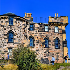 Castle by Nic Scott - Buildings & Architecture Public & Historical ( edinburgh, castle, caltonhill )