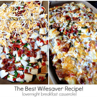 Overnight Breakfast Casserole! The Best Wifesaver Recipe!