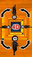 Screenshot of Stickman Run 4D - Fun Run