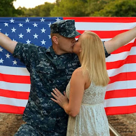 Honor by Jessie Shae - People Couples ( love, america, patriotic, sailor, military, couples )