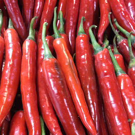red chilies by Mary Yeo - Food & Drink Fruits & Vegetables (  )