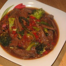 Teriyaki Lamb Stir - Fry
