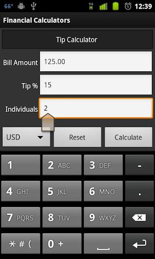 Financial Calculators Lite