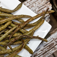 Easy Roasted Balsamic Green Beans