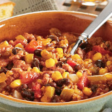 Swanson® Black Bean, Corn and Turkey Chili