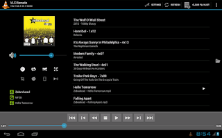 Screenshot of Remote for VLC (Stream Fork)