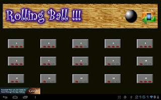 Screenshot of Rolling Ball - Falldown