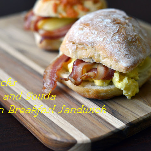 Starbucks Bacon & Gouda Artisan Breakfast Sandwich