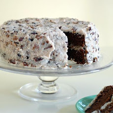 Gluten Free German Chocolate Cake With Vegan Frosting