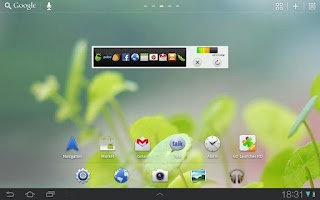 Screenshot of GO Launcher HD for Pad