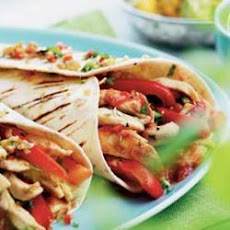 Easy Fresh Chicken Fajitas