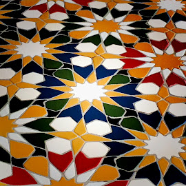Mosaic pattern by Janette Ho - Abstract Patterns (  )