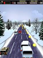 Screenshot of Sane Lane - car race