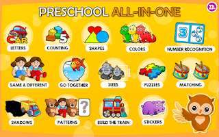 Screenshot of Preschool Learning Games Kids