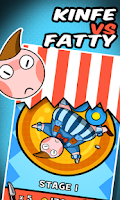 Screenshot of Knife VS Fatty:Circus