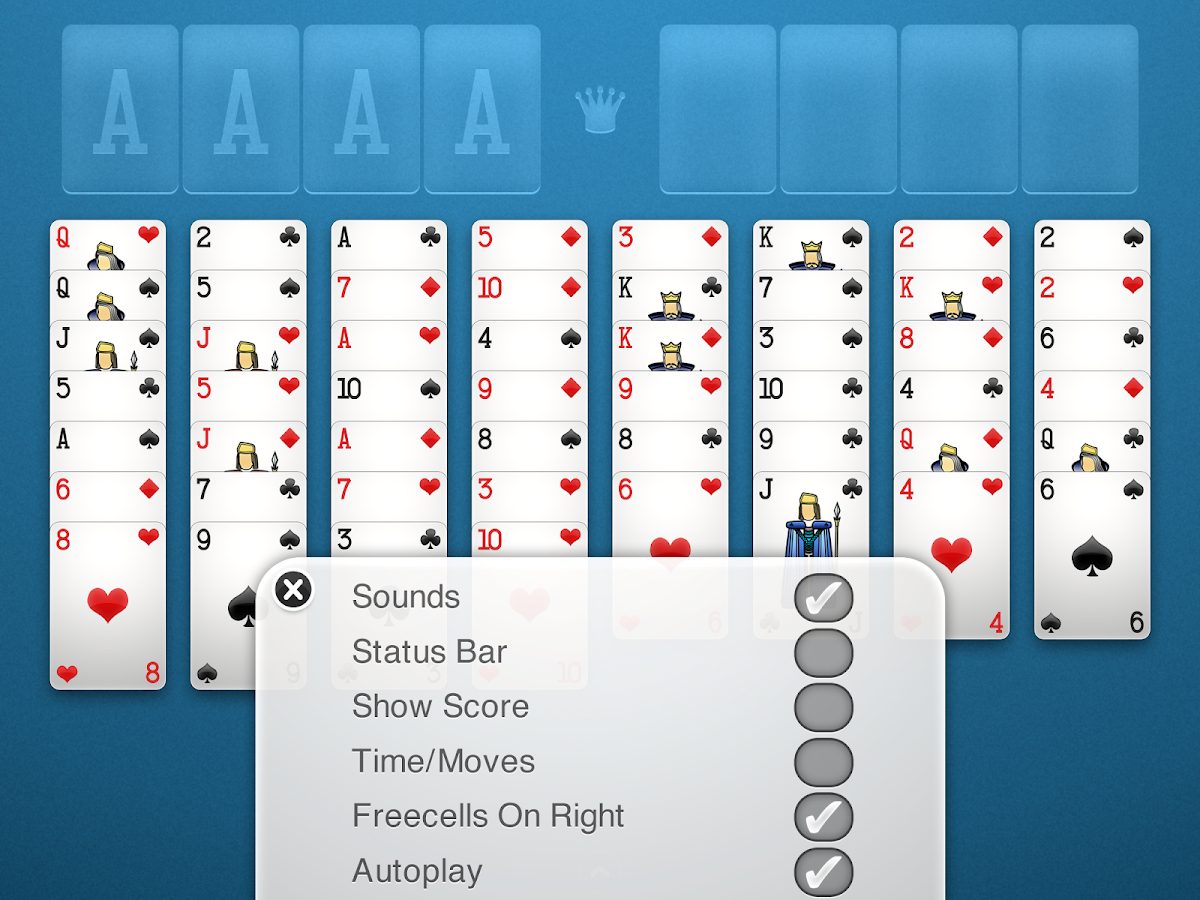 FreeCell Solitaire+ Screenshot 9