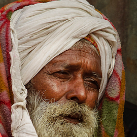 by Ajay Halder - People Portraits of Men