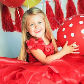 Red by Kellie Jones - Babies & Children Child Portraits