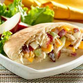 Apple 'n Cheddar Tuna Pitas