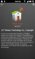 Screenshot of SmartHome