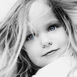 Blue eyes by Lucia STA - Babies & Children Child Portraits