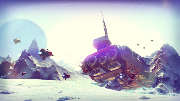 Hello Games to take a risk again with No Man's Sky