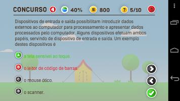 Screenshot of Jogo do Concurseiro