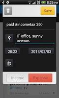Screenshot of Trackash - Expense Manager
