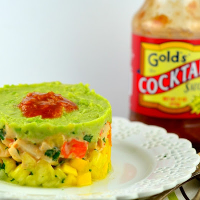 "Tropical ""Shrimp"" Cocktail Terrine"