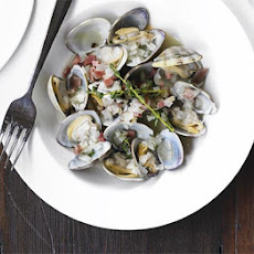 Clams with Serrano ham & fino sherry