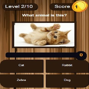 scratch and learn animals - screenshot