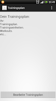 Screenshot of Körpergewichtsübungen Trainer
