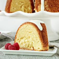 Lime Coconut Sour Cream Bundt Cake